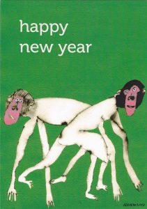 voorkant nieuwjaarskaart 2013